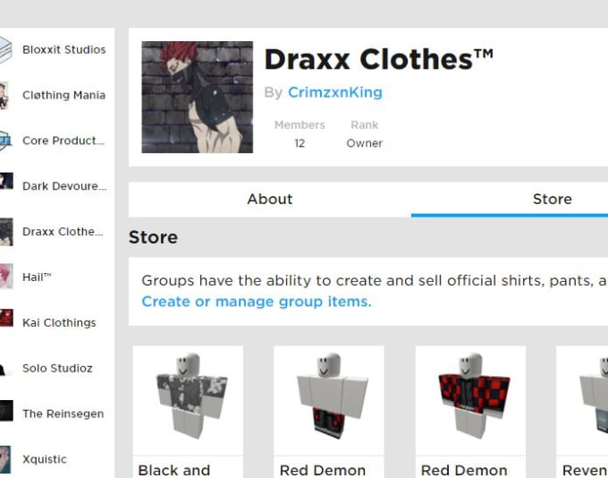 Roblox Make A Groups Make U Owner Of My Roblox Group Which Makes Robux Daily By Crimzonking