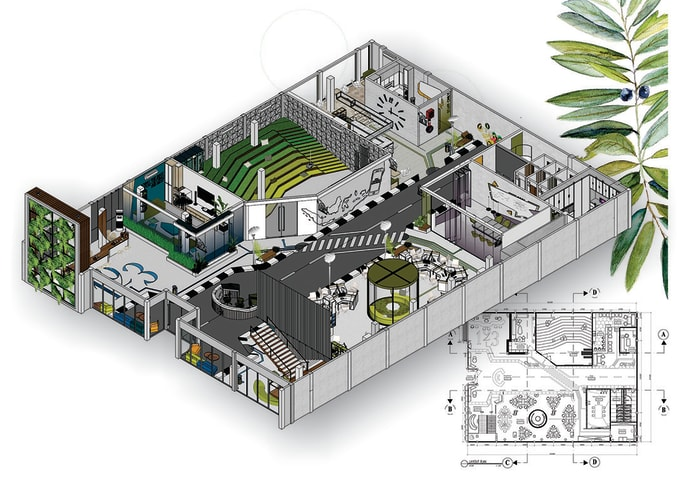 Make 3d Layout And Floor Plans From Sketchup By Unspacedstudio Fiverr