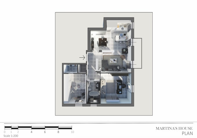 Design 2d Architectural Drawing Floor Plans Prospects Sections Pdf Dwg By Veltroven90 Fiverr
