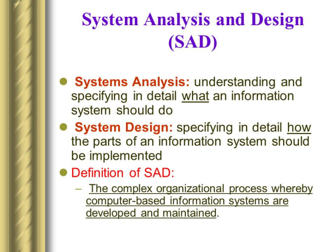Handle System Analysis And Design For Your Software Projects By Solomonkawerera