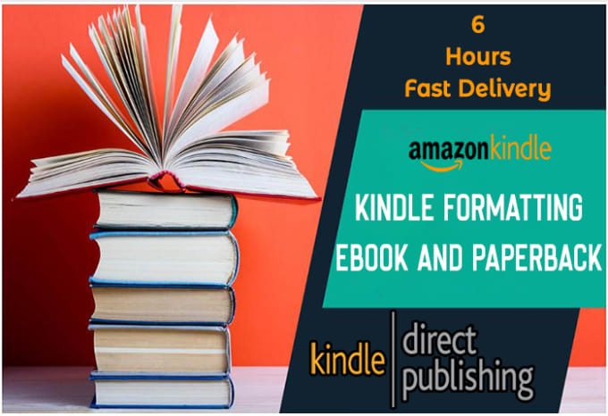 I will do kindle formatting ebook book formatting and layout design for KDP