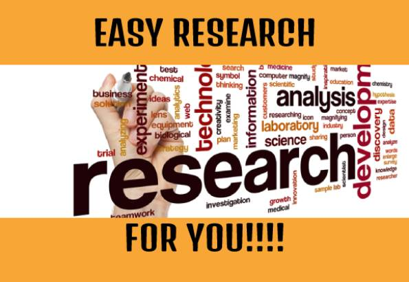 Professional research writing