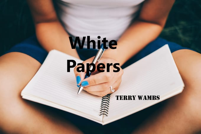 write a white paper for you