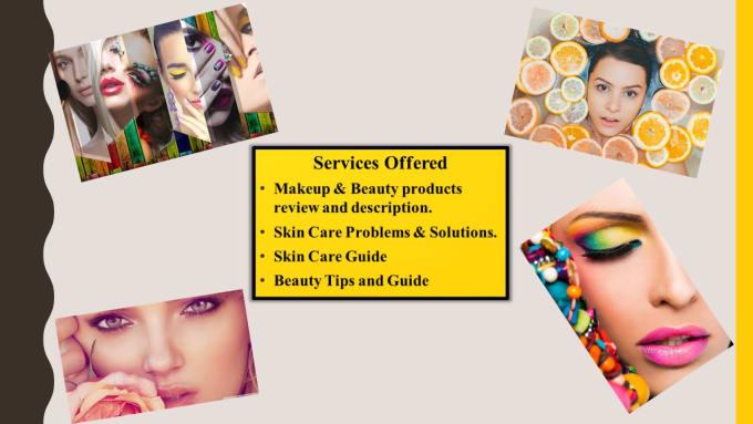 Write Seo Blog Post On Beauty Skincare