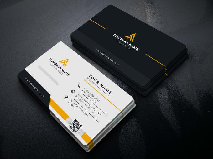 I will design modern luxury business card or minimal unique elegant real estate card