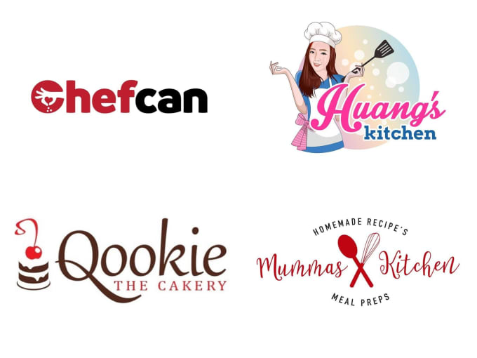 Design Food Restaurant Chef And Bakery Logo By Fqgraphics