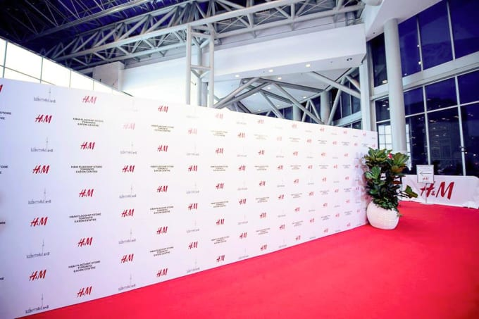 Design Red Carpet Step And Repeat Backdrop By Agbula