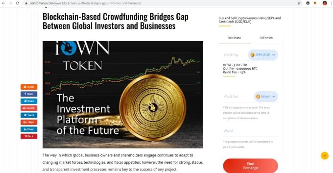 top 5 cryptocurrency websites