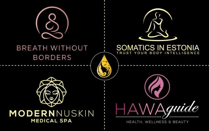 Design beauty spa cosmetics fashion and skincare logo by Javedraju | Fiverr