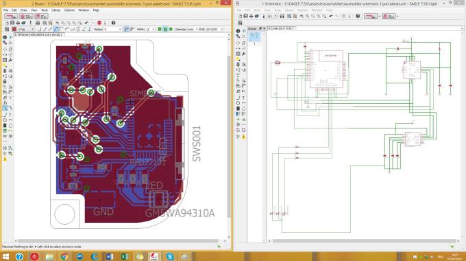 [EQHS_1162]  Do multilayer pcb layout, circuit and schematics design by Pmihaylov   Design Schematics      Fiverr