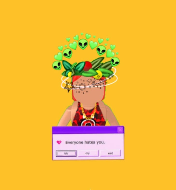 Aesthetic Transparent Roblox Girl Aesthetic Gfx