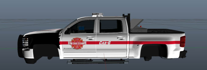 make a fire  ems  police livery for fivem or gta by sedriq