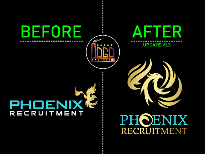 I will redesign edit or update your existing logo creatively