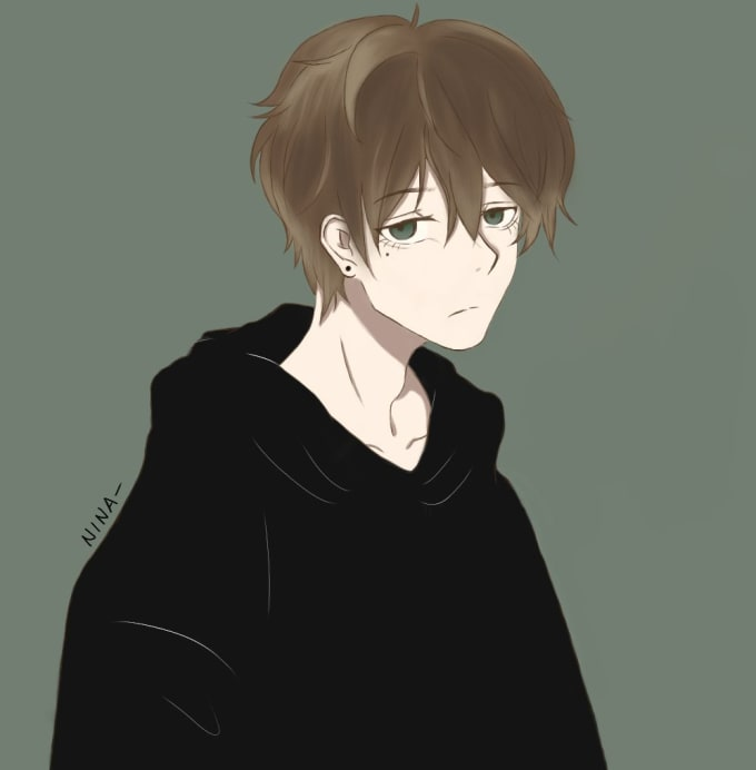 Draw An Anime Profile Picture For You By Teddys Art Fiverr