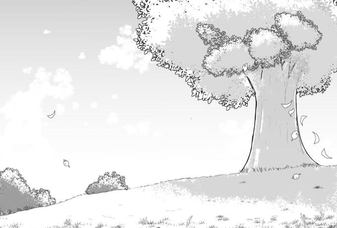 Draw Backgrounds For Your Comic Manga Webtoons By Jayakusumaa