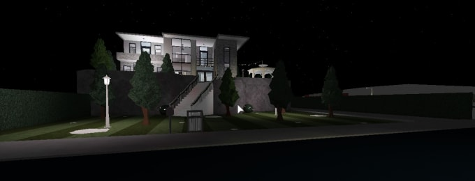 Bloxburg Mansion Aesthetic Build