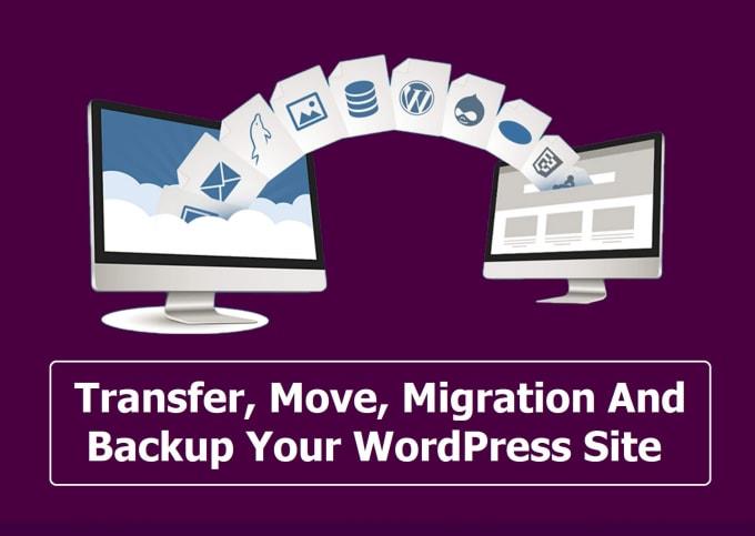 backup, cloning, migration wordpress website