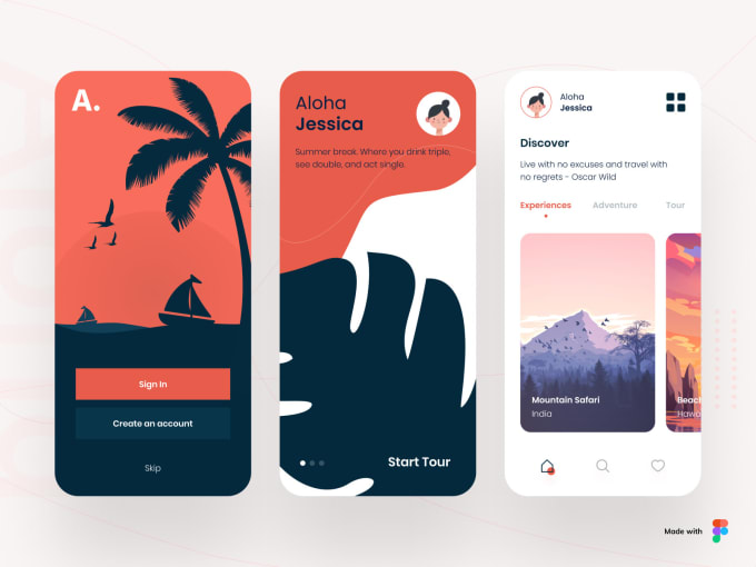 Develop An Travel Booking App Similar To Klook By Neha534 Fiverr