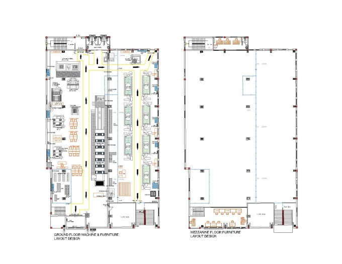 Design Layout Any Floor Plan Residential Commercial Building In Autocad By Innovative Plan Fiverr