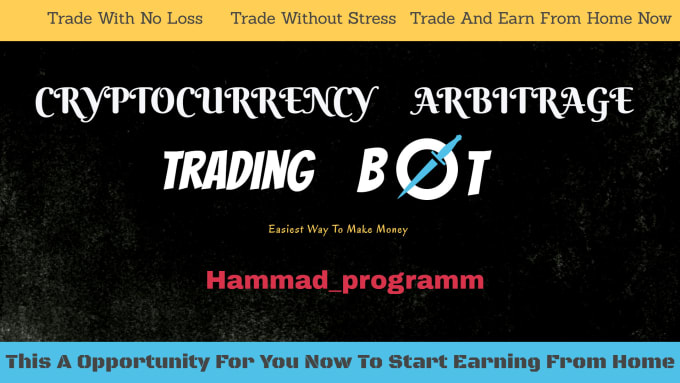 cryptocurrency arbitrage trading bot