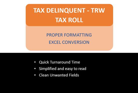 Voy a convertir el archivo de nómina de impuestos trw moroso en excel