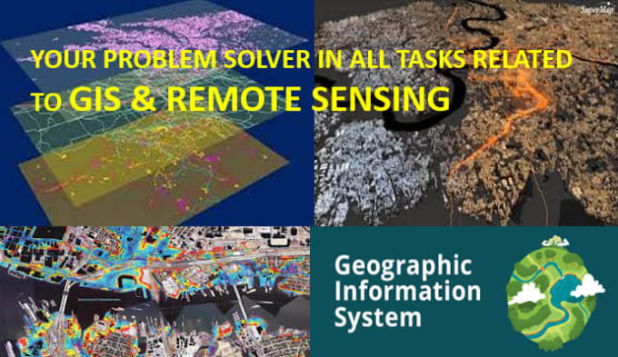 do gis mapping, spatial data and landsat imagery analysis,