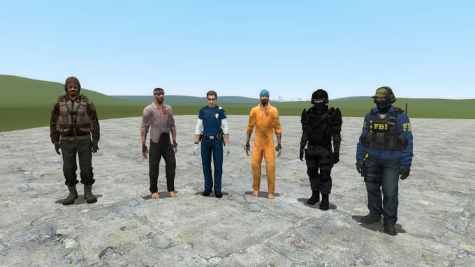 Create Player Models And Npcs For Garrys Mod By Hopwiresfm