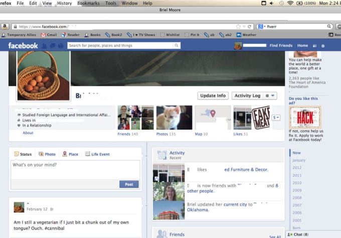 Fake facebook profile pics