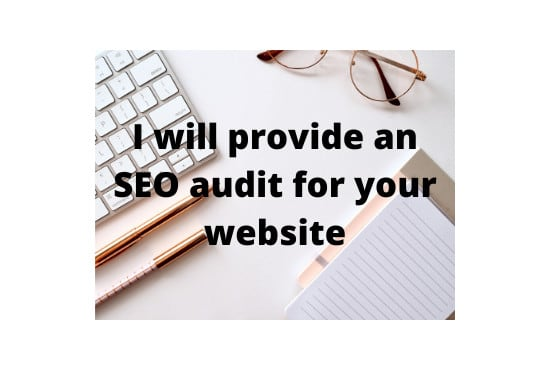 do a SEO audit on your website