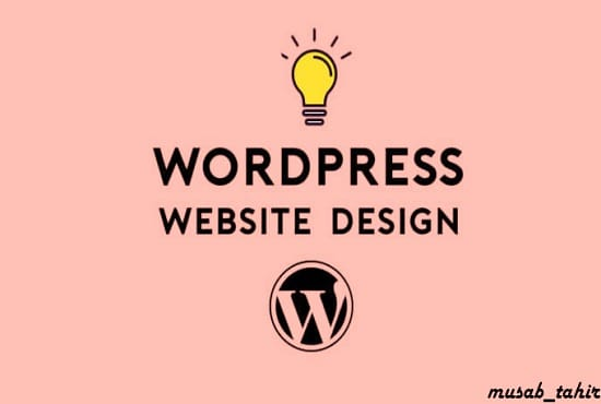 design and build a wordpress website
