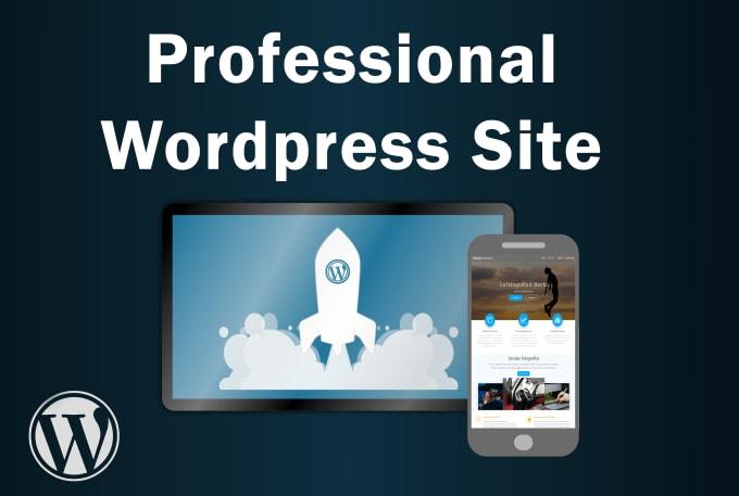 Build And Design A Responsive Wordpress Website By Stefanyoshovski