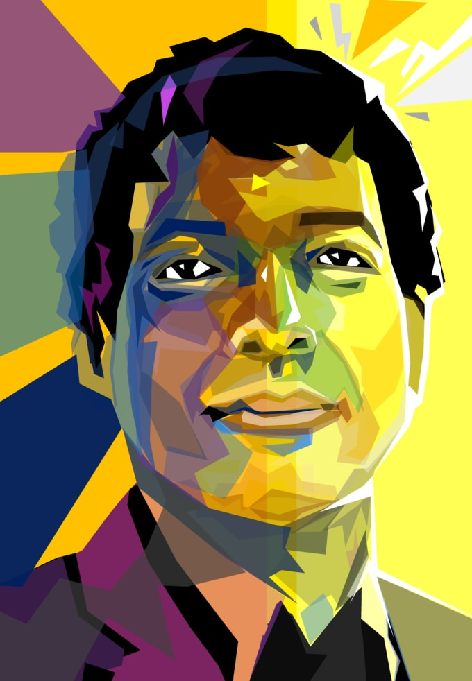turn your photo into an amazing vector pop art