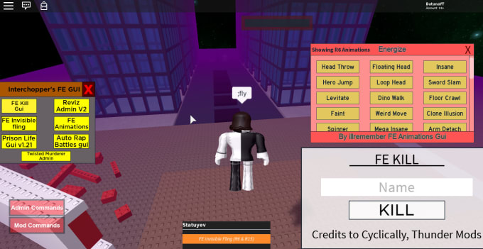 Create Any Kind Of Roblox Script Or Exploit By Interchopper