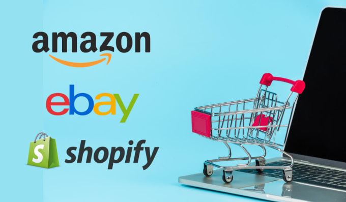 list any products on ebay amazon and shopify