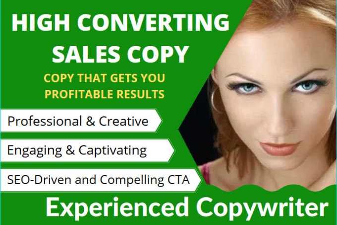 write persuasive sales copy that gets profitable results