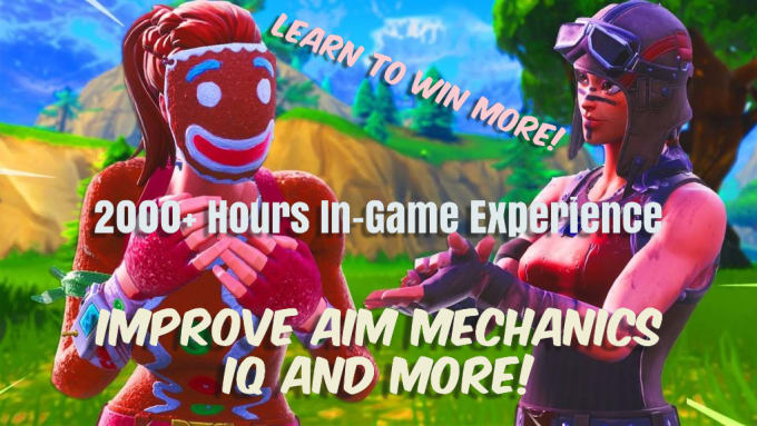 I will coach your fortnite aim, mechanics, and iq to expert level