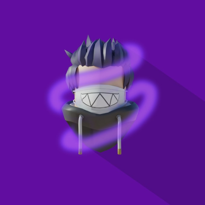 Design You A Roblox Shadow Head Logo 3d And 2d By Ken Nrl