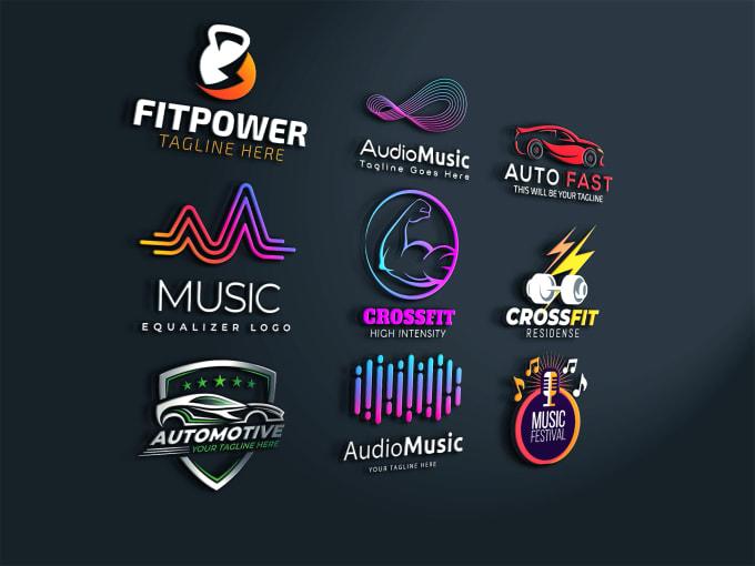 Do Modern Automotive Car Gym Fitness Music Dj Logo Design By Logoist Ahsan