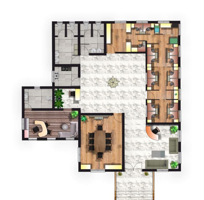 Architect Floor Planning Carpet And Tiling Ideas By Hey Niel