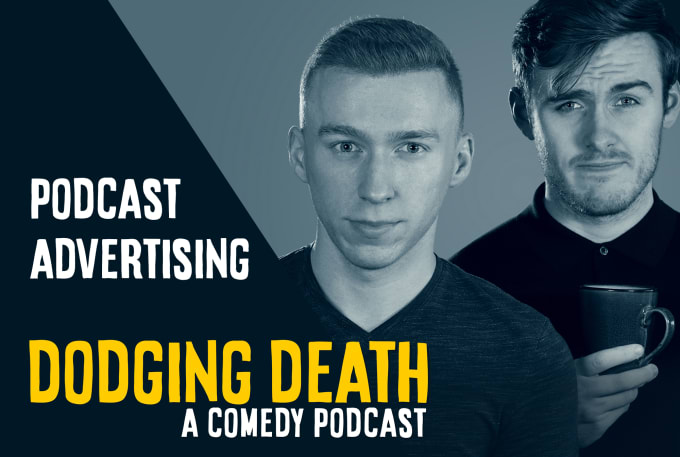 promote your product, service or podcast on my comedy podcast