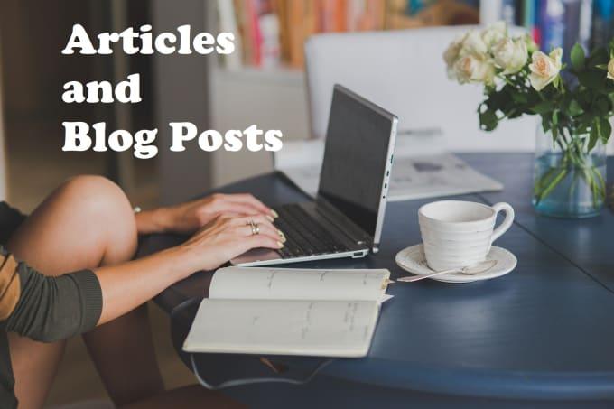 create SEO articles and blog post impressive and original