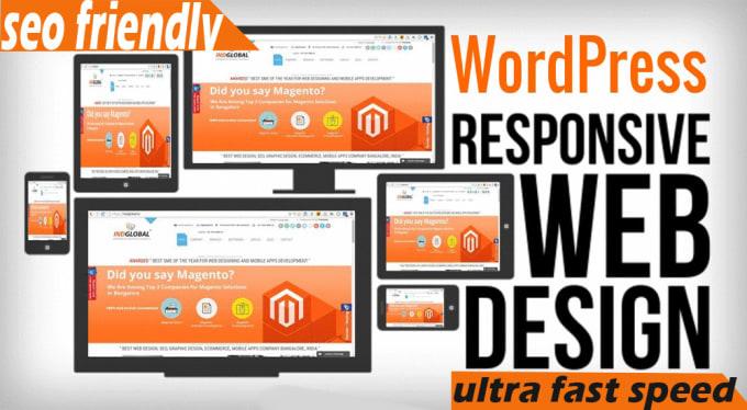 Create Responsive Wordpress Website Design Or Blog By Santoshdkadam