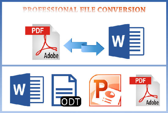 Convert pdf file, format,design,edit microsoft word ...
