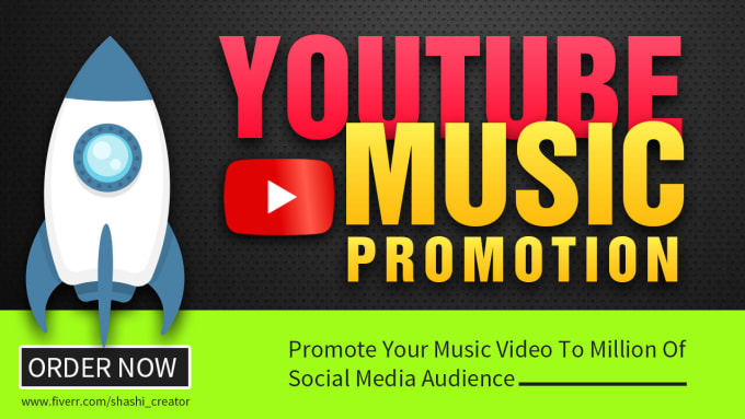 Real Youtube Music Video Promotion By Shashi Creator