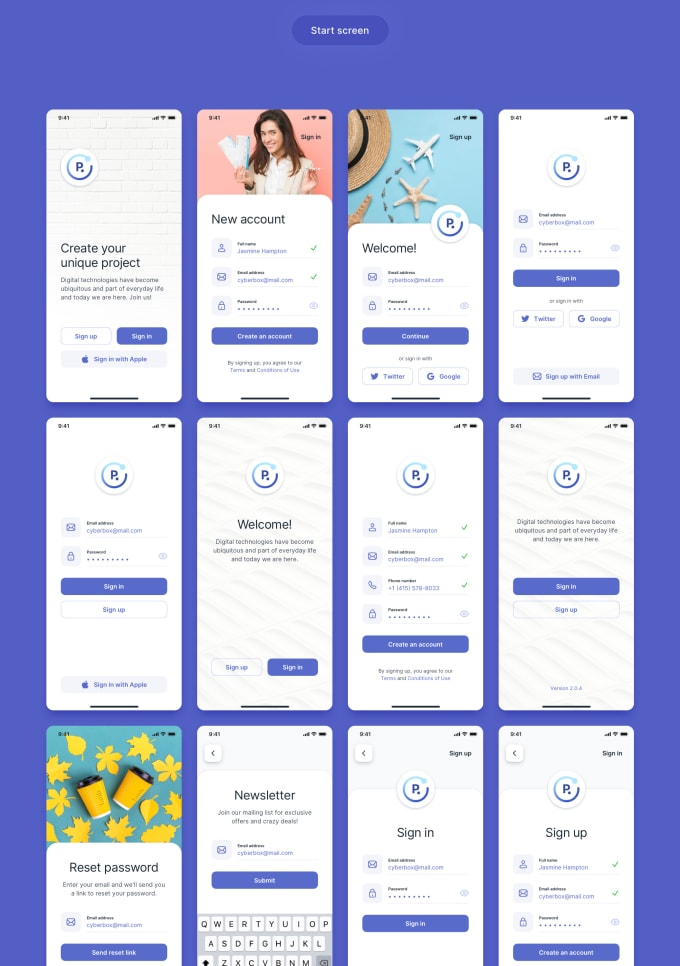 Design Amazing Ui Ux For Mobile And Web App User Interface By Nidhigsingh
