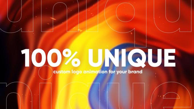 create a custom and unique logo animation