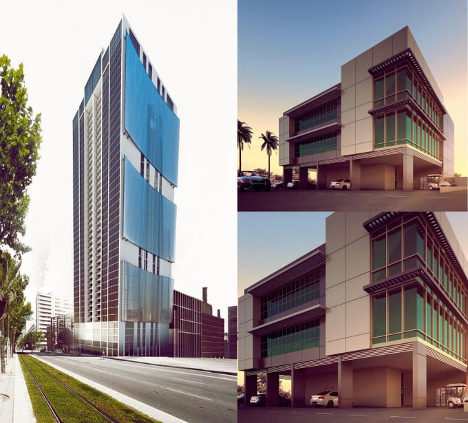 Create Exterior 3d Modeling And Realistic Rendering By