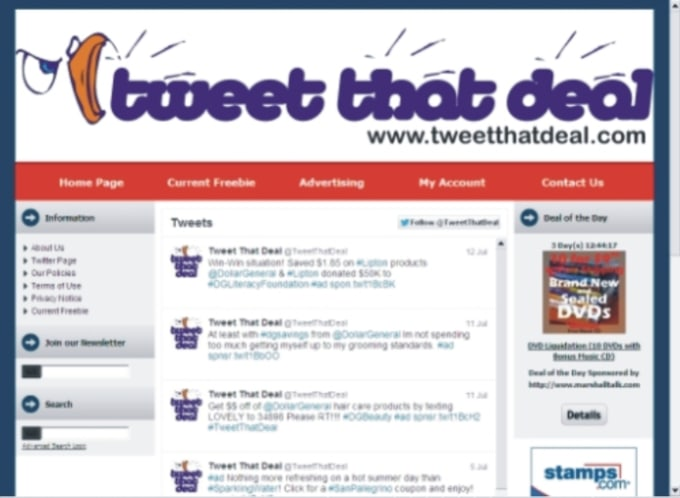 Feature Your Special Coupon Or Discount Deal On Twitter And Tweetthatdeal Feed By Marshalltalk