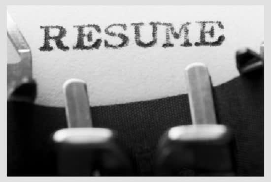 Resume writing service charges