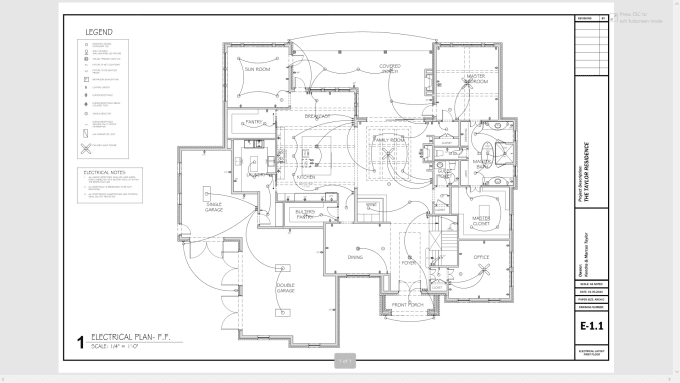 Do Electrical Layout Plans By Cadraft Fiverr
